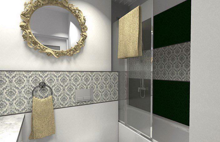 красивая ванная комната после ремонта