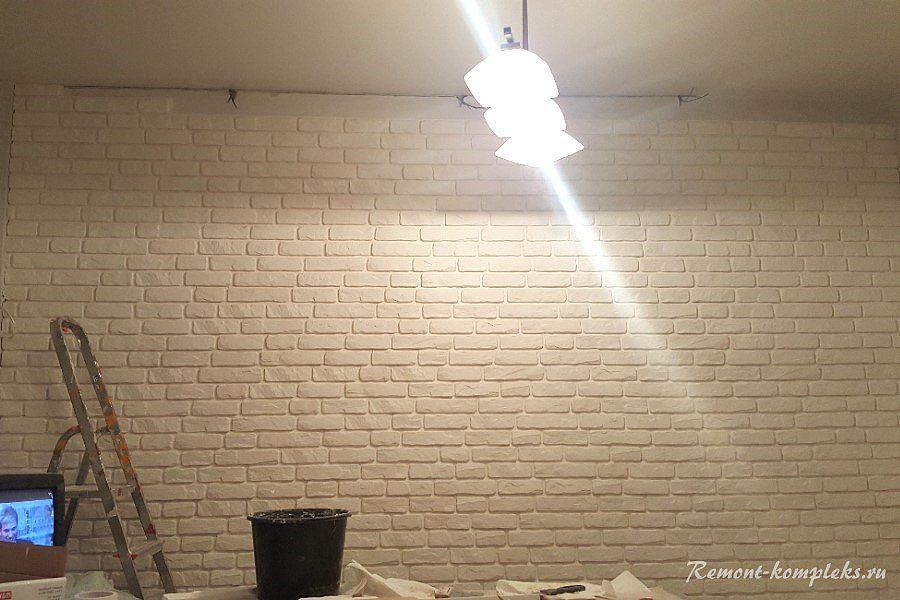Стена под кирпич