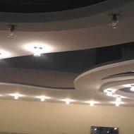 Подвесные потолки из гипсокартона: фото в интерьере