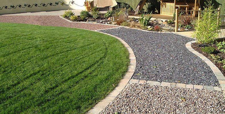 Как сделать садовую дорожку из гравия?